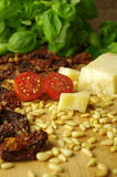Italien pesto rosso sauce Stock Photo