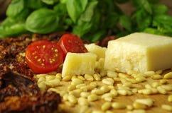 Italien pesto rosso sauce Stock Photos