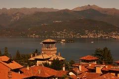 ITALIEN PIEMONT LAGO MAGGIORE Royalty Free Stock Image