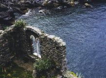 Italien, Portovenere, Kirche von St Peter lizenzfreie stockfotografie