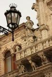 Italien Puglia, Lecce - Santa Croce Church Royaltyfri Foto