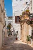 Italien Puglia Locorotondo Stockfotografie