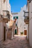 Italien Puglia Locorotondo Lizenzfreie Stockfotos