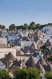 Italien Puglia Trulli Alberobello Stockbilder