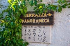 Italien Puglia Trulli Alberobello Stockfotografie