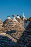 Italien Puglia Trulli Alberobello Lizenzfreie Stockfotografie