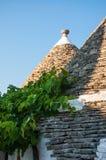 Italien Puglia Trulli Alberobello Stockbild