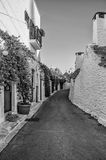 Italien Puglia Trulli Alberobello Lizenzfreies Stockfoto