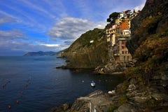 Italien, riomaggiore Stockfotos