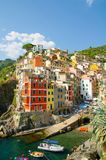 Italien Riomaggiore, by av fred arkivfoto
