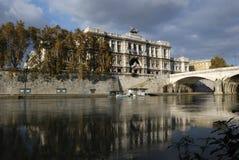Italien, Rom Gerechtigkeit Palace Lizenzfreie Stockfotografie