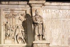Italien Rom, Konstantinsbogen Lizenzfreie Stockbilder