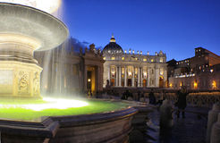 Italien - Rom - S Pietro-fontane Lizenzfreies Stockfoto