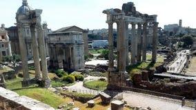 Italien Rome Coliseumamfiteater arkivbilder