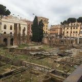 Italien Rome, Largo di Torre Argentina Arkivfoton