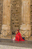 Italien - Rome - stadsmitt Arkivbilder