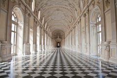 Italien - Royal Palace: Galleria di Diana, Venaria Stockfotos