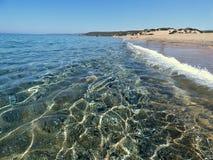 Italien, Sardinien, der Piscinas-Strand stockfotos