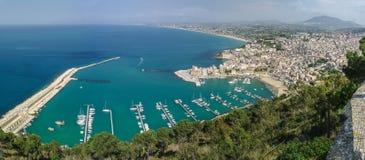 Italien Sicilien, Castellammare del Golfo Arkivfoto