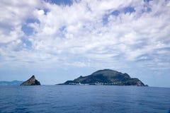 Italien Sizilien, äolische Inseln lizenzfreies stockbild
