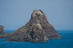 Italien Sizilien Acitrezza Die Hafen Lachea-Insel Lizenzfreie Stockfotografie