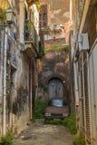 Italien, Sizilien: Die alten Straßen von Acireale Lizenzfreie Stockfotos