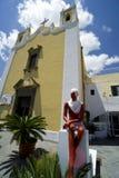 Italien Sizilien Eolie, Insel der Saline stockfotografie