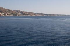 Italien Sizilien Taormina - Panorama Lizenzfreie Stockfotos