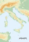 Italien-Systemtest vektor abbildung