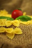 Italien-Teigwaren farfalle Lizenzfreie Stockfotografie