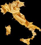 Italien-Teigwaren-Nahrung Lizenzfreie Stockfotos