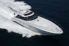 Italien, Tirrenian Meer, Luxuxyacht des Baia Aqua 54 ' Stockfotos
