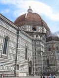 14 06 2017 Italien, Toscana, Florence: Piazza del Duomo och Cathe Arkivbilder