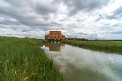 Italien, Toskana, Castiglione-della Pescaia, Ansicht des Naturreservat Diaccia Botrona hdr stockbild