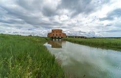 Italien, Toskana, Castiglione-della Pescaia, Ansicht des Naturreservat Diaccia Botrona hdr stockfotografie