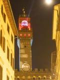 Italien, Toskana, Florenz, der Turm Palazzo Vecchio Lizenzfreie Stockbilder