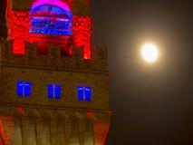 Italien, Toskana, Florenz, der Turm Palazzo Vecchio Lizenzfreie Stockfotografie