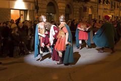 Italien, Toskana, Florenz, Grassina-Dorf Lizenzfreies Stockfoto