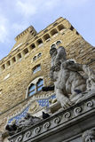 Italien, Toskana, Florenz, Palazzo Vecchio, quadratisches della Signoria Stockbild