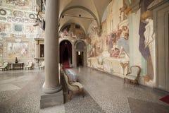 Italien, Toskana, Florenz, Petraia-Landhaus Stockfotografie