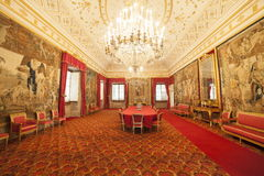 Italien, Toskana, Florenz, Petraia-Landhaus Lizenzfreie Stockfotos
