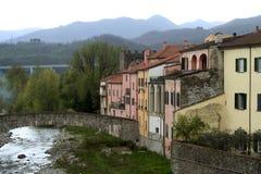 Italien, Toskana, Pontremoli Lizenzfreie Stockbilder