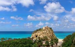 Italien Tropea Arkivbilder