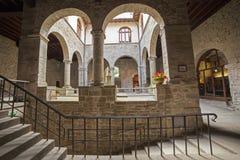 Italien Tuscany, Camaldoli Arkivbilder