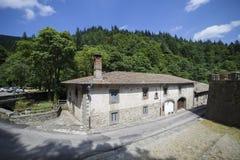 Italien Tuscany, Camaldoli Arkivfoton
