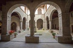 Italien Tuscany, Camaldoli kloster royaltyfri foto