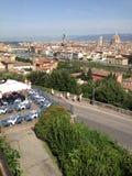 Italien Tuscany, Florence Arkivfoto