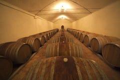 Italien, Umbrien, der Weinkeller Lizenzfreies Stockbild