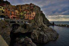 Italien und manarola, Ligurien Lizenzfreie Stockfotografie