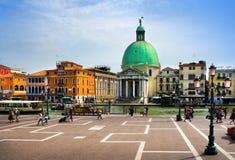 Italien Venedig, Bahnhof des Platzes Stockfoto